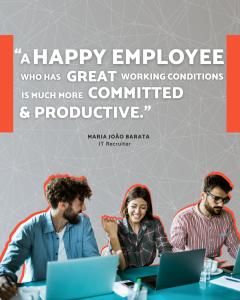 Happy employees - e.near nearshore - Maria João RH