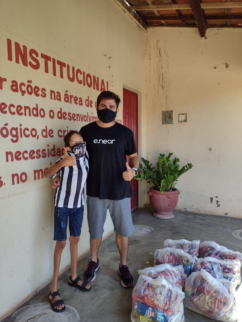 e.near - food baskets offer - Pestalozzi Association Milagres (1)