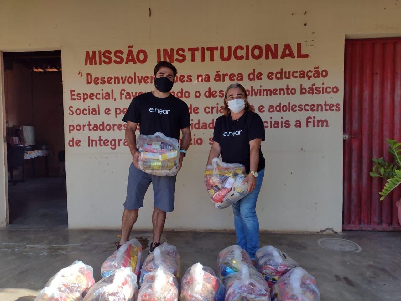 e.near - food baskets offer - Pestalozzi Association Milagres (4)