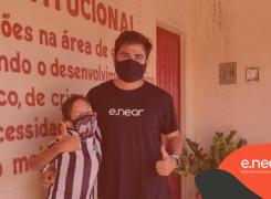 e.near offers food baskets to Brazilian families