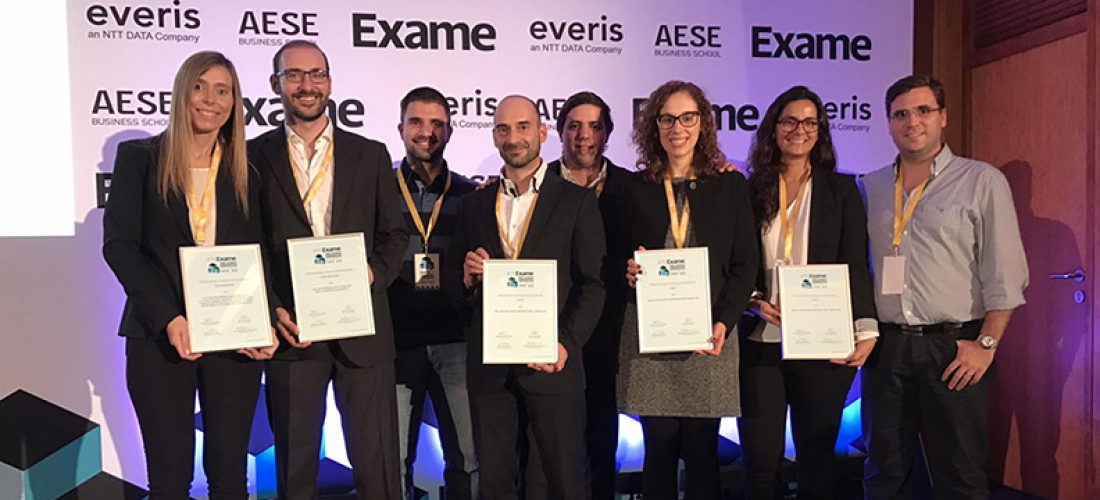 e.Near is one of the top 100 companies to work for in Portugal