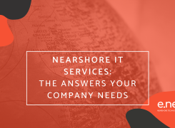 IT Nearshore Services: The answers your company needs